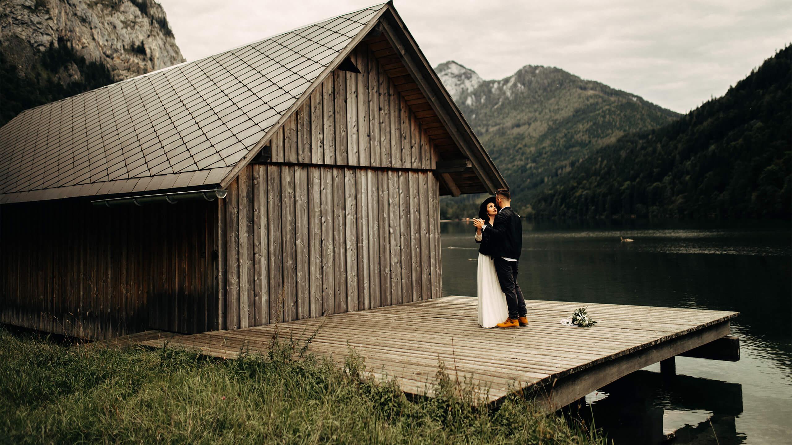 Plener slubny w Austrii- M&K – Sesja w gorach